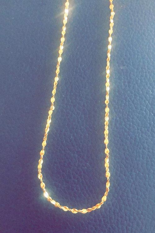 Lulu Gold Petal Chain