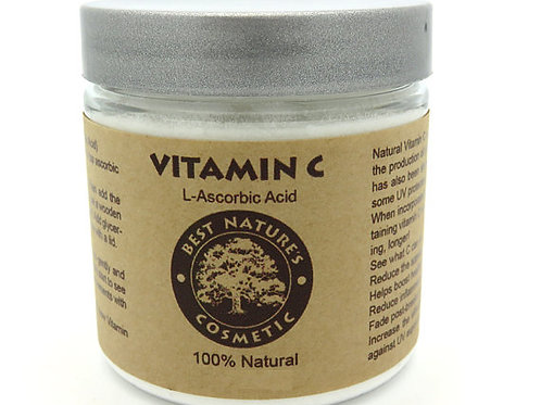 Natural Vitamin C Powder (L-Ascorbic Acid) helps