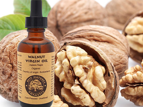 Walnut Oil Virgin organic, cold pressed,
