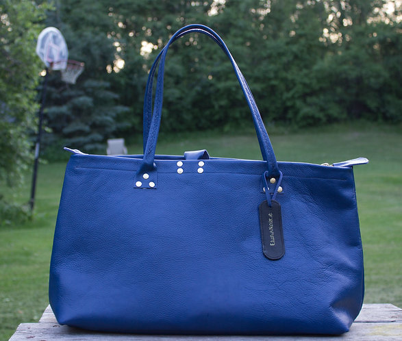 Amèlie Large top zip tote