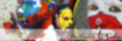 Nathalie Le Riche Art, Tribal Art, PNG Art, Brisbane artist, influenced by PNG culture, PNG culture, Papua New Guinea, Kimbe, WNB, Tropica Fish, Kimbe Bay, Colourful art, Unique art, top png artist,West New Britain, Tribal Face Art, Clownfish art, Huli men, Warrior, Panga Women, Tribal shells,