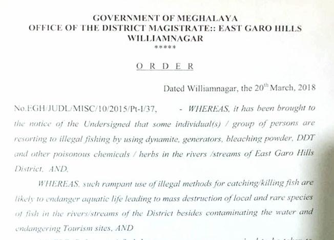 Garo Hills Magistrates Order
