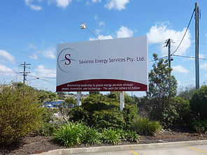 Savanna Energy, signs, toowoomba