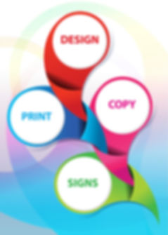design, print, copy, signs