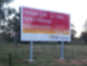 signs, south burnett, Heritage Bank, billboards