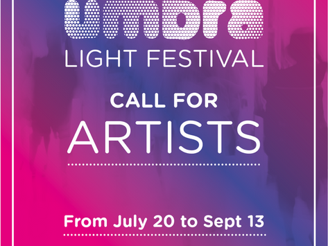 The call for the next edition of Umbra Light festival
