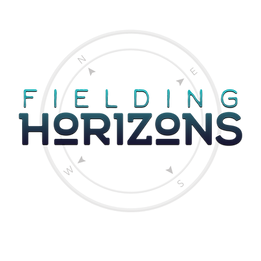 Fielding Horizons Full Logo Dark Purple.