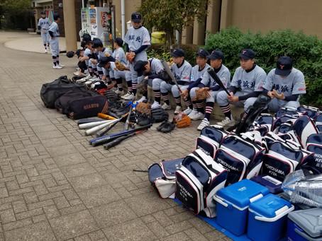 南関東支部一年生大会Aチーム3回戦 敗退