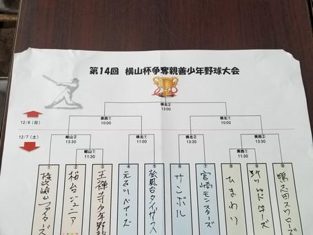 第14回横山杯トーナメント表