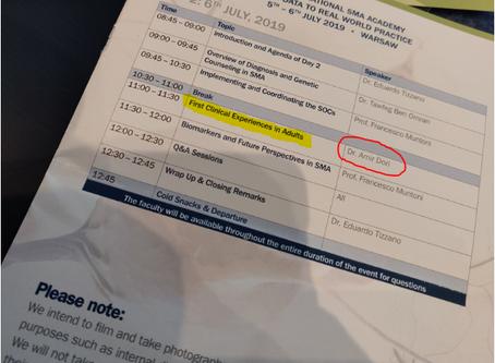 SMA סימפוזיון ניוון שרירים - ביוג'ן - וורשה - יוני 2019