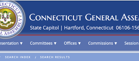 Signed! Two 2021 CT Legislative bills