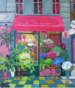 パリの花屋