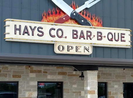 When you visit the Hill Country, stop by Hays Co. Bar-B-Que. And be sure to get the green beans.