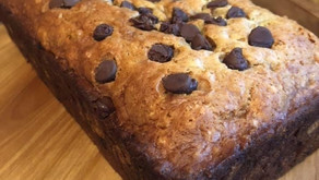 Add this chocolate chip banana bread to your weekend brunch menu. (Dad will love it!)