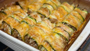 Want a bite of these delicious-looking zucchini chicken enchiladas? Here's how to make a pan.