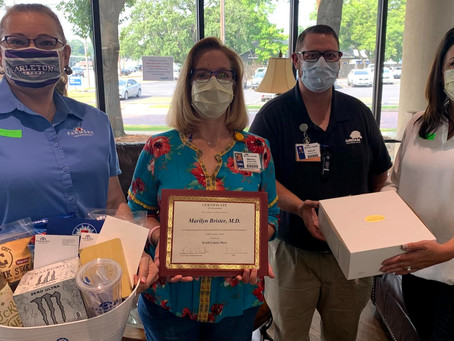 'She cares about people.' Dr. Marilyn Brister has been named Erath County's Hometown Hero.