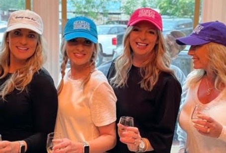Hearsay Wine Bar's new hats are just what you need this summer. Check out these fun colors!