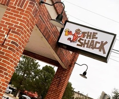 Hey crawfish lovers, it's time to celebrate! The Shack is now open.