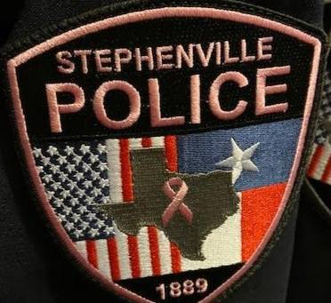 Stephenville PD joins fight against breast cancer with special patch to be worn throughout October.