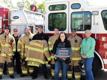 SFD receives $25k grant for lifesaving equipment from  Firehouse Subs Public Safety Foundation.