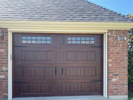 My new garage is swoon-worthy thanks to Veteran Overhead Doors. Thanks Danny Pyburn!