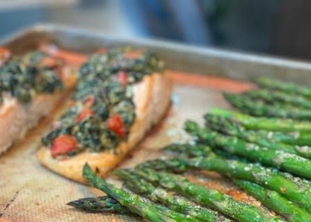 Get fancy with this delicious recipe for Salmon Florentine.