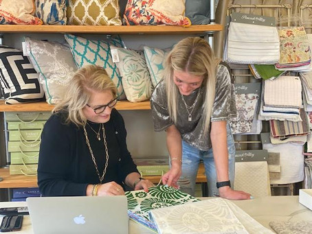 Julianne's...a design shop located on the historic courthouse square is more than you might expect.