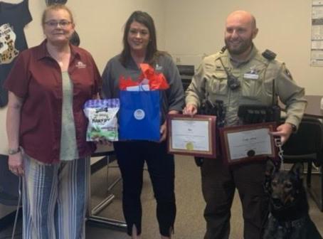 Erath County sheriff's deputy Cody Allen is June's Hometown Hero.