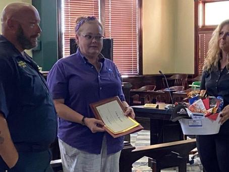 Chris Brooks chosen as Erath County's latest 'hometown hero.'