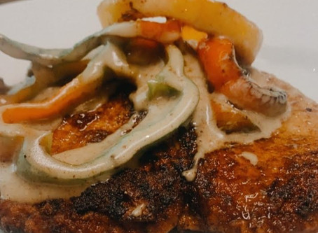Pan fried smothered pork chops make the perfect homestyle meal for your family.