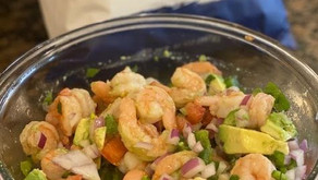 Say hello to sunshine (and summer) with this shrimp ceviche.