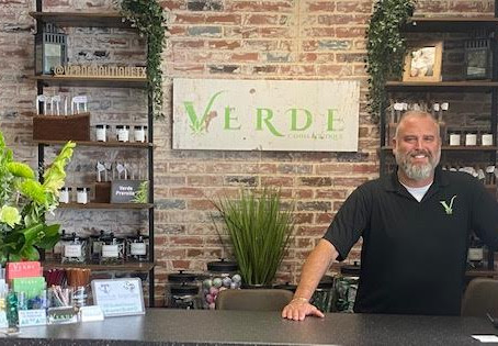 Enjoy a calming experience at Verde Canna Boutique, Stephenville's newest retailer.