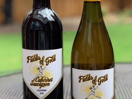 Fields of Gold is a new wine label dedicated to finding a cure for childhood cancer.