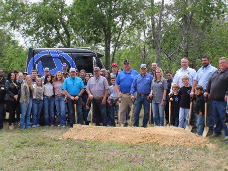 The gold-rated Huckabay ISD has no shortage of good things happening including a new ag complex.