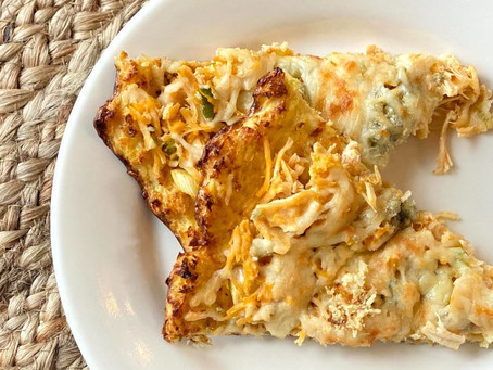 Back-to-school meals: Buffalo chicken cauliflower pizza and Philly cheesesteak skillet.