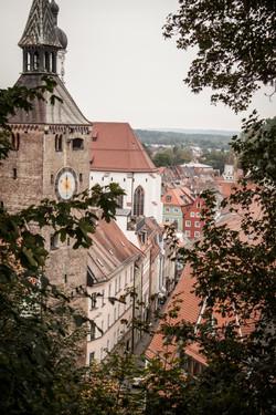 Sicht vom Schlossberg