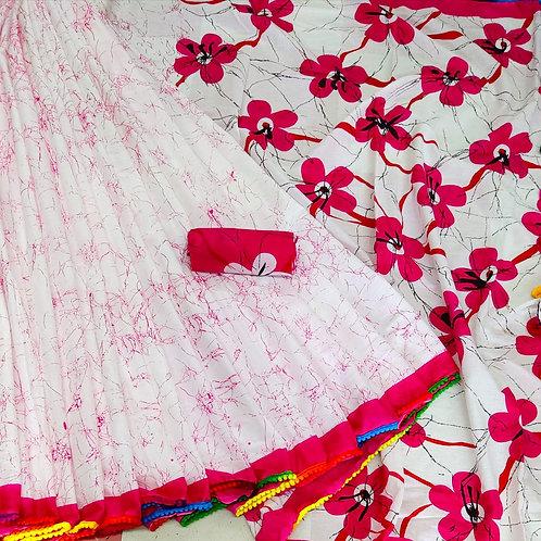 Handloom Soft Cotton Banaras Zari - 4