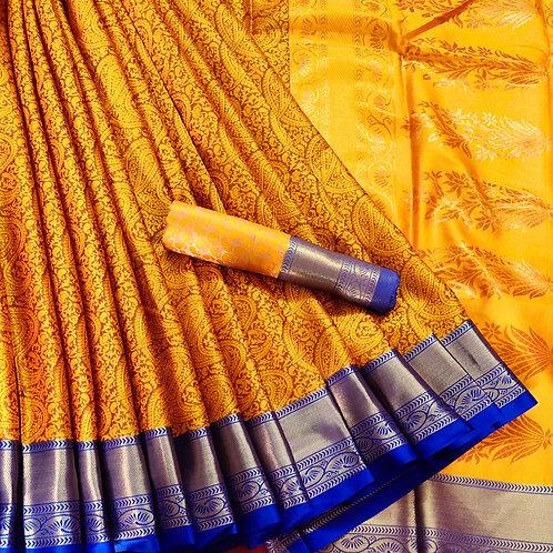 Benni Chiffon Quality Saree - 5