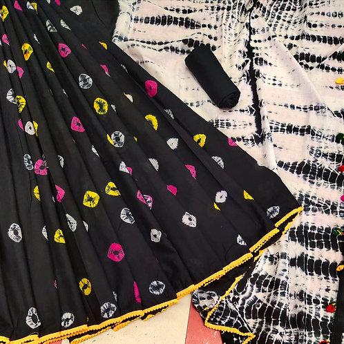 Handloom Soft Cotton Banaras Zari - 12