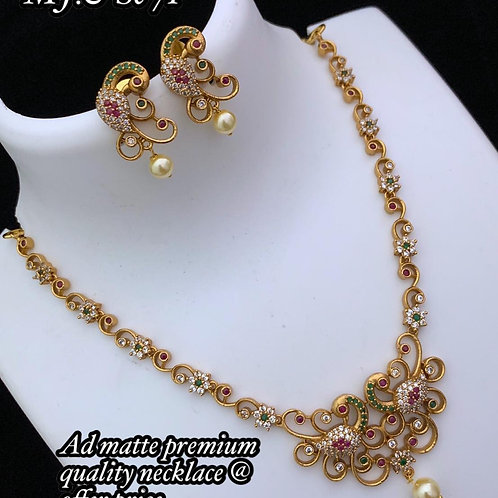 Chain + Ear Ring Combo Set - 4