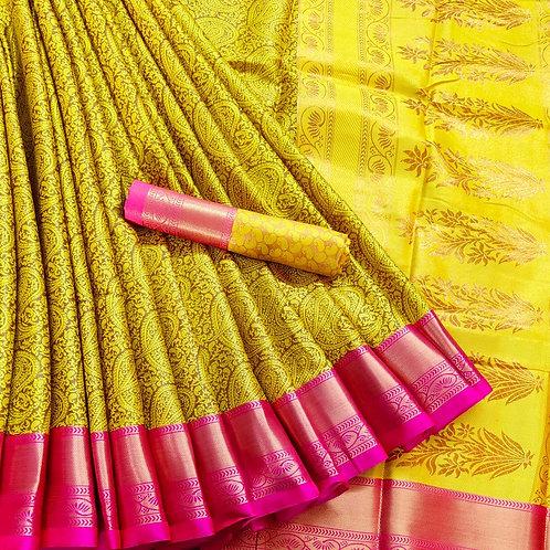 Benni Chiffon Quality Saree - 3