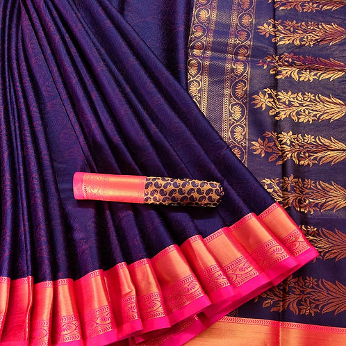Benni Chiffon Quality Saree - 4