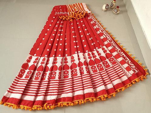 Cotton Saree - 10
