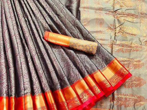 Benni Chiffon Quality Saree - 2