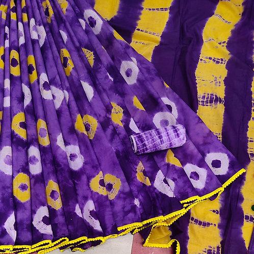 Handloom Soft Cotton Banaras Zari - 3