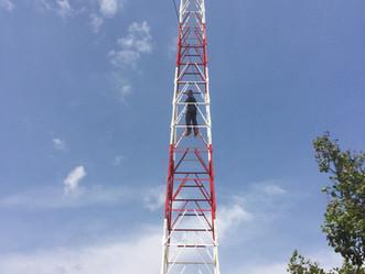 ArrobaSat instala nova Torre de Transmissão