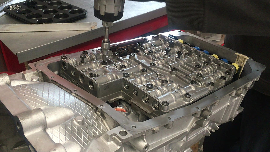 Ford ZF 6HP26 Valve Body Removal at Transdoctor