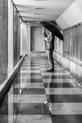 Umbrella Selfie
