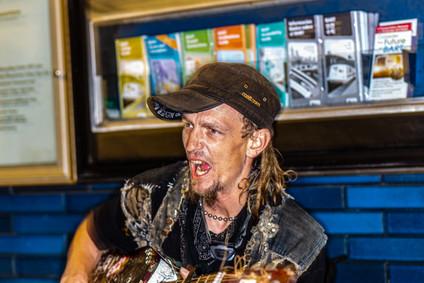 Singing At Oakland BART