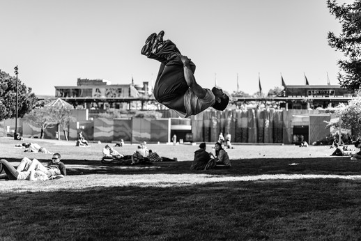 Flipping Out in the Park